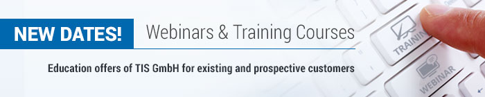 Webinars & Training Courses of telematics provider TIS GmbH