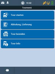 TISLOG Logistik-Software Tourmenü | TIS GmbH