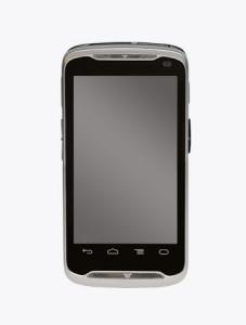 TISWARE Logistik Hardware: Zebra TC55 - mobiles Terminal im Smartphone-Format frontal