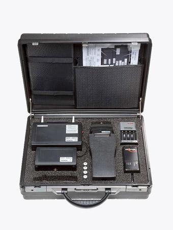 TISPLUS Hardware Zubehör für die Logistik: Mess-System für DECT Netzwerke - HCS Locator Pro mit Koffer