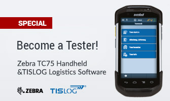 Become a tester: Zebra TC75 and TISLOG Logistics software