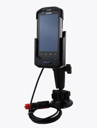 TISPLUS Fahrzeughalterung für Zebra TC70/ TC75 mit Mobilgerät