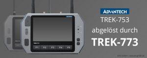 TISWARE Logistik-Hardware: TREK-773 abgelöst durch TREK-773