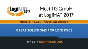 Meet TIS GmbH at LogiMAT 2017