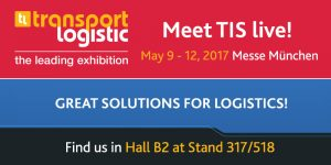 Meet telematics provider TIS live at transport logistics 2017 in Munich