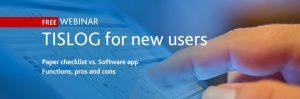 Free Webinar TISLOG for new users