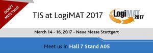 Meet Telematics Provider TIS GmbH at LogiMAT 2017